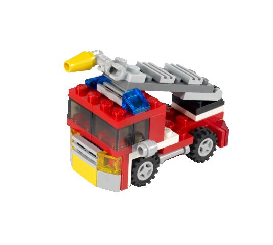 схема лего пожарная машина