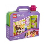 4059-F37 LEGO FRIENDS LUNCH SET zielony Pojemnik na lunch + bidon