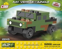 Klocki COBI 2245 Armia NATO AAT Vehicle Jungle Nano