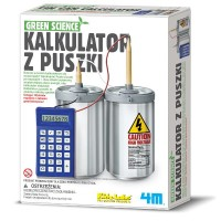 4M 3360 GREEN SCIENCE KALKULATOR Z PUSZKI