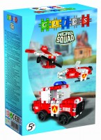 Klocki CLICS RC052 Hero Squad Fire Brigade Box