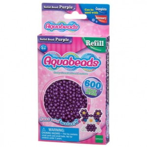 Aquabeads 5780 Solid Beads Purple