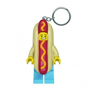 LGL-KE119 LEGO BRELOK latarka Hot-Dog