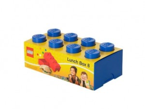 40231731 Lunch box LEGO 8 niebieski