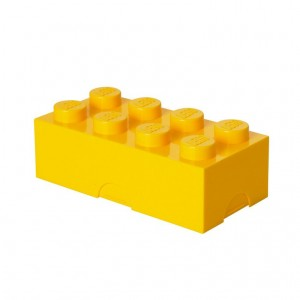 40231732 Lunch box LEGO 8 żółty
