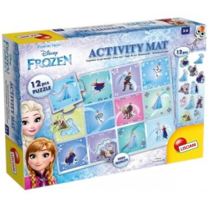 LISCIANI Frozen Mata Activity 70x50cm 12el