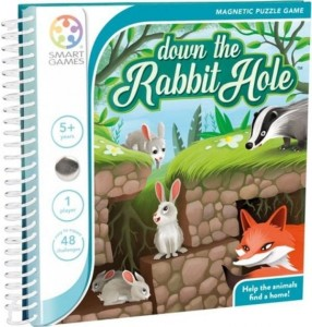 SMART GAMES 2089 Królicza norka (down the rabbit hole)