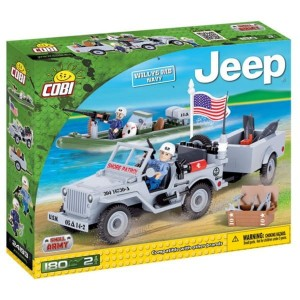 Klocki COBI 24193 Jeep Willys MB US Navy