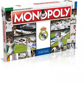 HASBRO 2370 Monopoly Real Madryt
