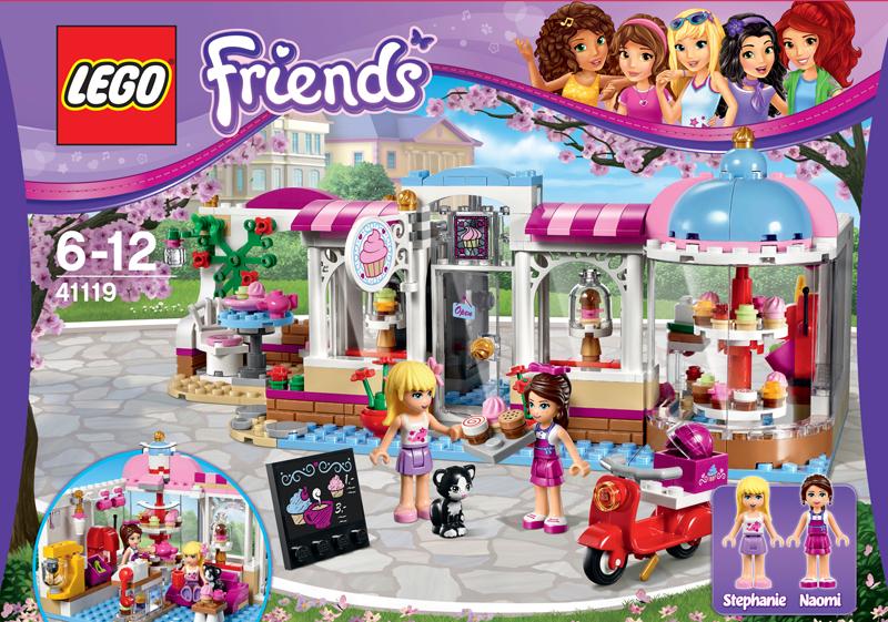 Klocki Lego 41119 Cukiernia W Heartlake Z Serii Lego Friends