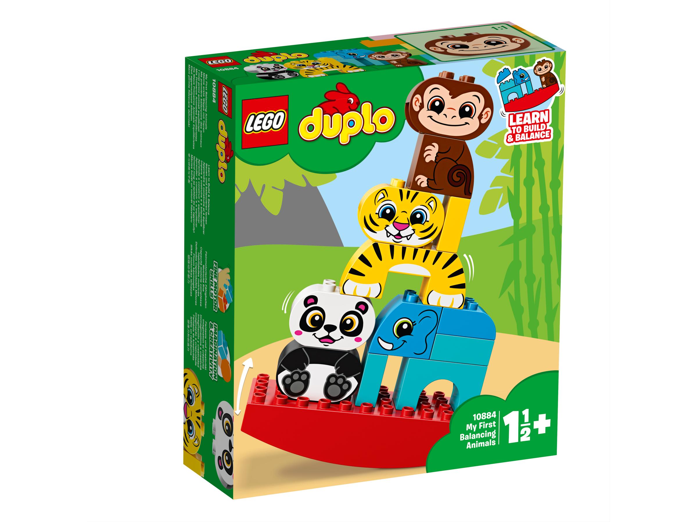 Klocki Lego 10884 Moje Pierwsze Zwierzątka Na Równoważni Z Serii