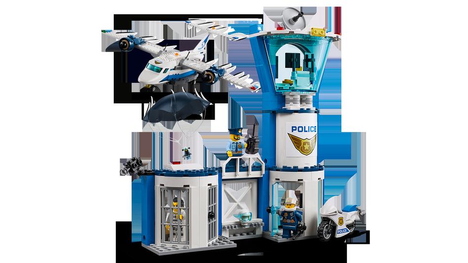 Klocki Lego 60210 Baza Policji Powietrznej Z Serii Lego City