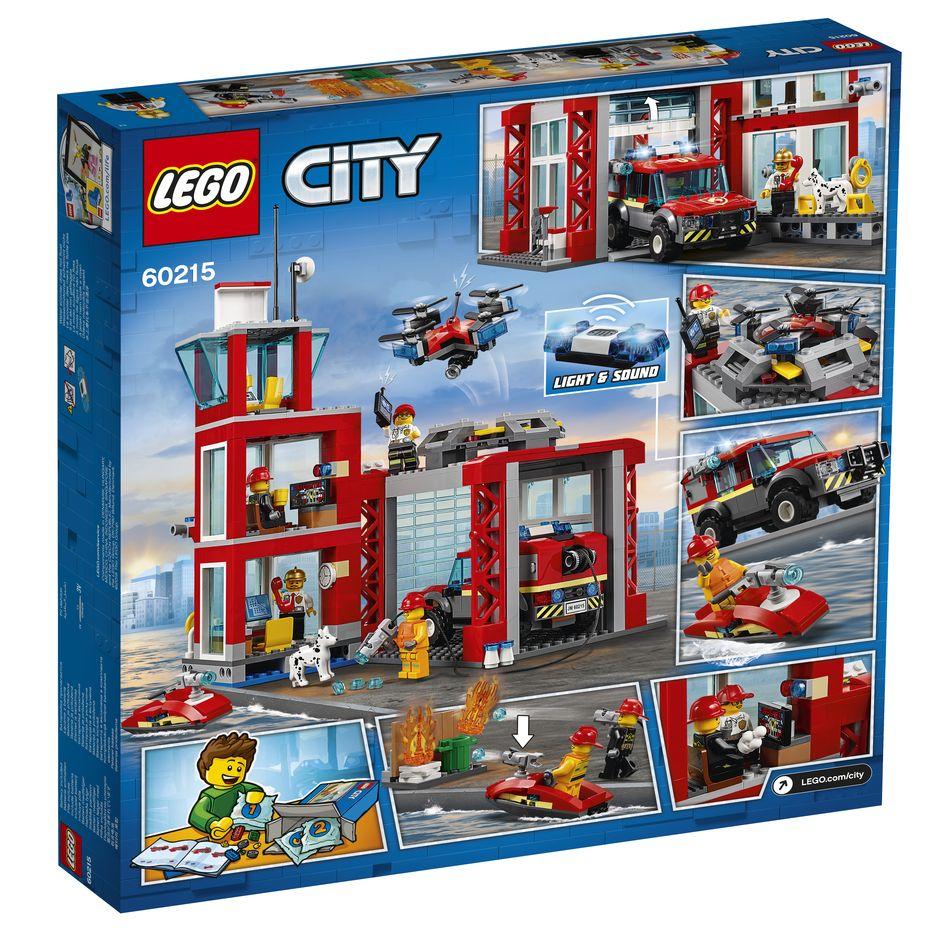 Klocki Lego 60215 Remiza Strażacka Z Serii Lego City Klockinetpl