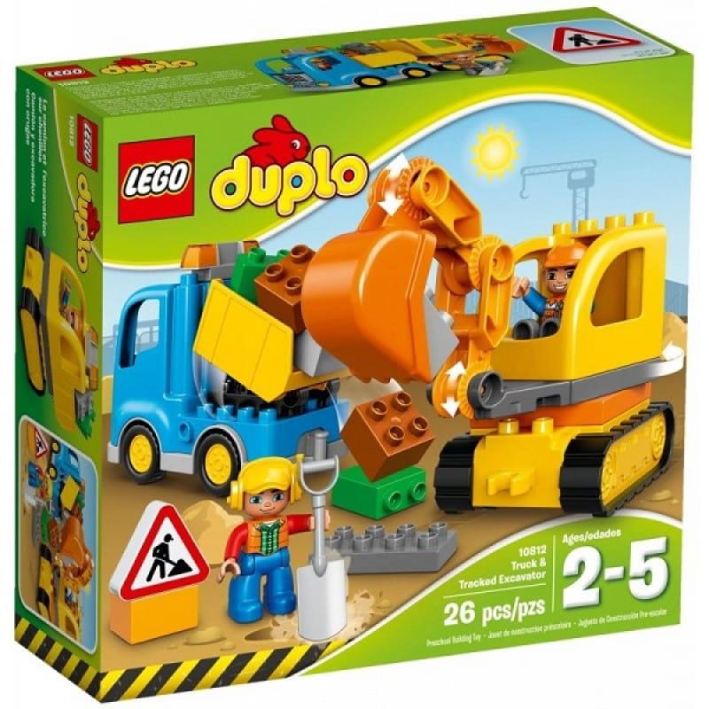 Klocki Lego 10812 Ciężarówka I Koparka Gąsienicowa Z Serii Lego