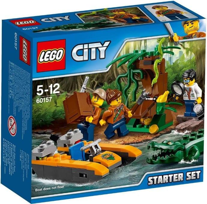 Klocki Lego 60157 Dżungla Zestaw Startowy Z Serii Lego City