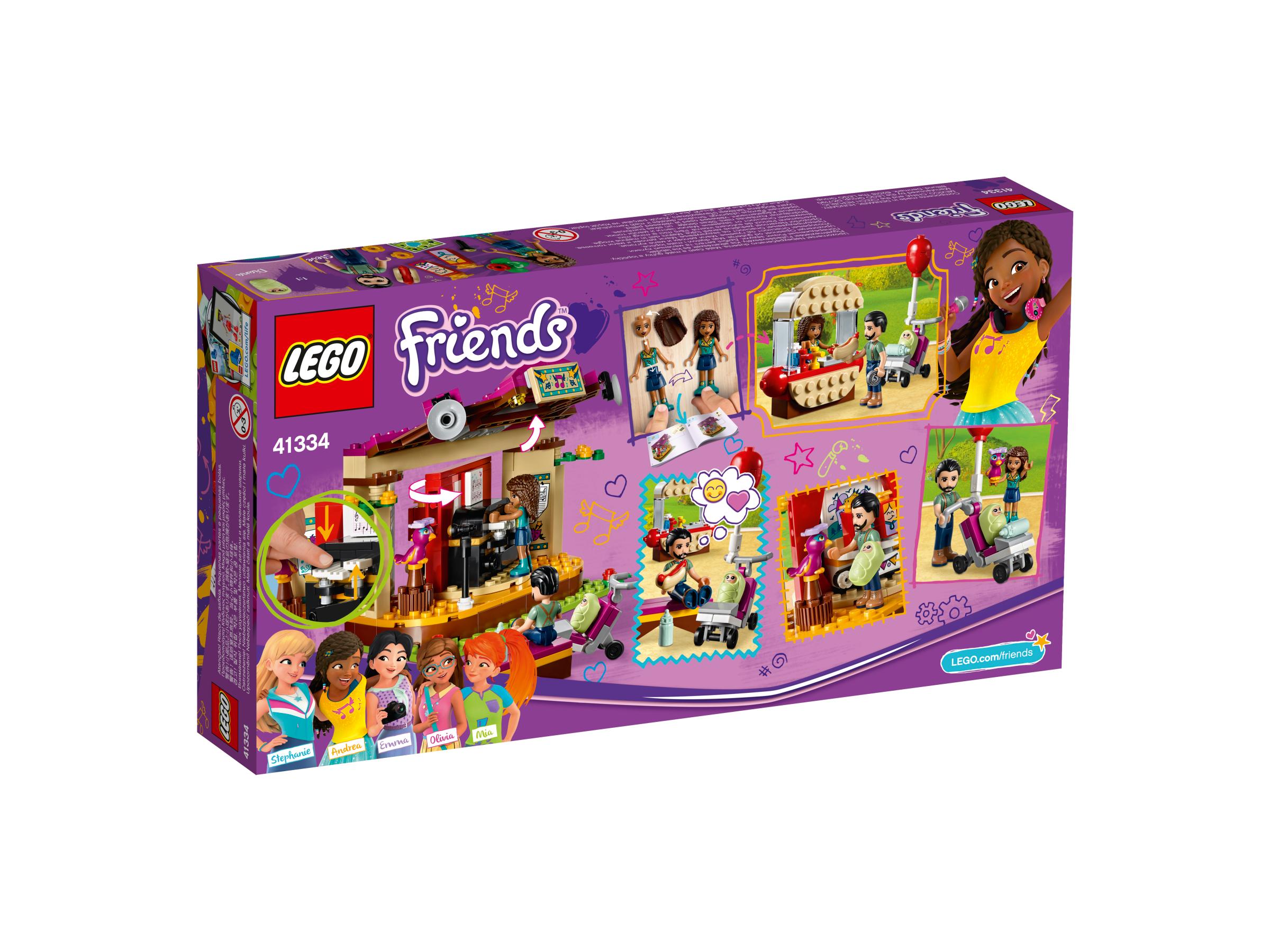 Klocki Lego 41334 Pokaz Andrei W Parku Z Serii Lego Friends Klocki
