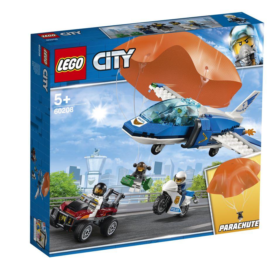 KLOCKI LEGO 60208 Aresztowanie spadochroniarza Z SERII LEGO City