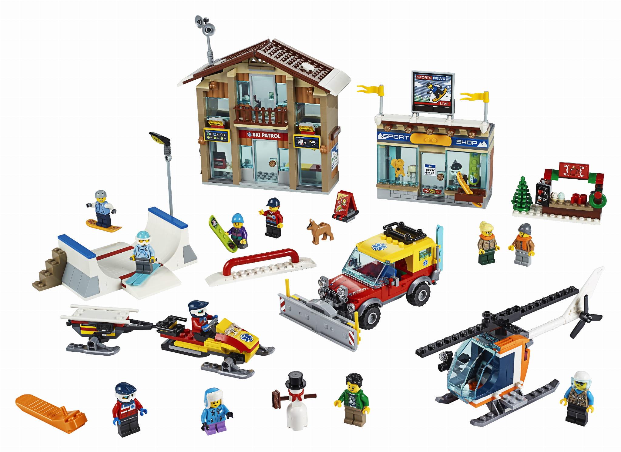 KLOCKI LEGO 60203 Kurort narciarski z SERII LEGO CITY